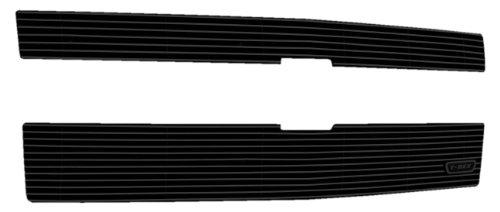 (T-Rex 21120B Billet Black Powder Coated Grille Overlay for Chevrolet Silverado 1500 Z71-2 Piece)