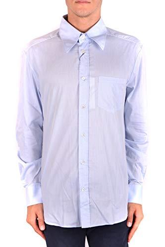 & Dolce Shirt Cotton Dress Gabbana (Dolce e Gabbana Men's Mcbi099416o Light Blue Cotton Shirt)