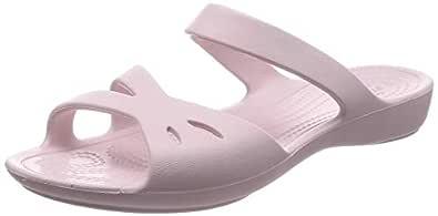 Crocs Women 203991-001 Kelli Sandal Pink Size: 6 US