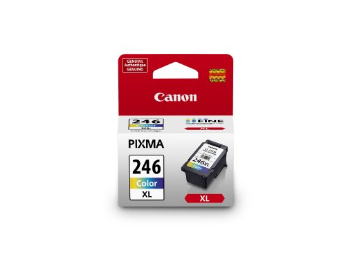 Canon CL-246XL Color Ink Cartridge, Compatible to MX492, MG3020,MG2920,MG2924,iP2820,MG2525 and MG2420 ()