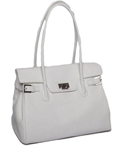 Étui manufaktur Weiß Handtaschen Delphinprägung Osthoff Monaco Cuir Mit Josephine En Josybag De tE1Tqww