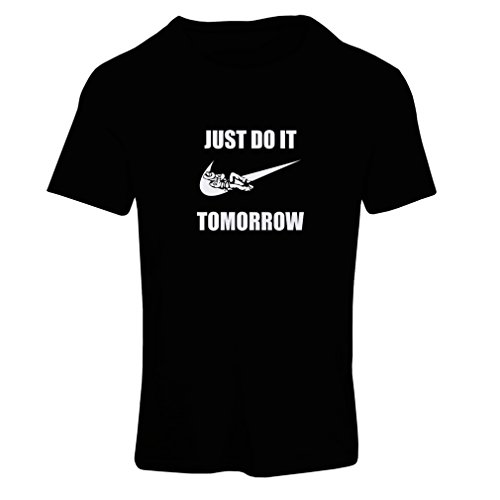 T Shirts for Women Just Do It Tomorrow - Workout Tops with F