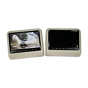 X3 Car Headrest DVD Player with Monitor