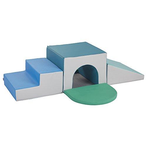 ECR4Kids Softzone Single Tunnel Play Foam Climber Plus, ()