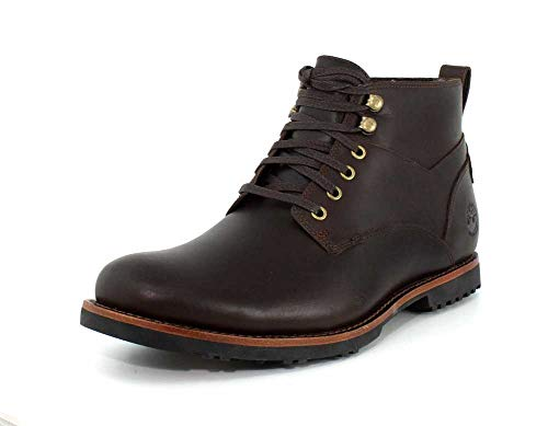 Timberland Kendrick Waterproof Chukka Boot - Men's Dark Brown Full Grain, 9.5