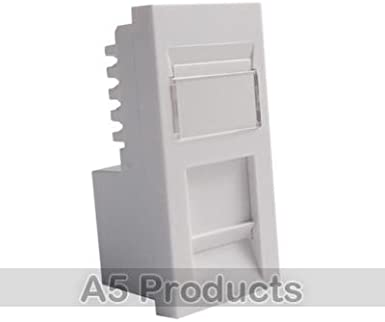 RJ45 Ethernet Socket Outlet Grid Network Wall Cable Port CAT5E CAT6 Face Plate