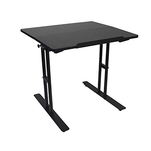 Computer Workstation Desk Adjustable Height Standing Table New Design Green House Furniture