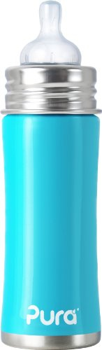 Pura Kiki Stainless Infant Bottle Stainless Steel With
