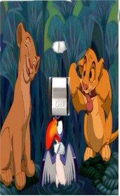 Disney Baby Bedding Lion King Jungle Fun Light