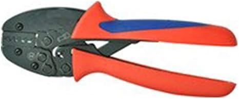 ケーブルカッター 圧着ペンチ フェルール用 ケーブルスリーブプライヤー 6〜16mm² 圧着工具 手動ケーブルカッター