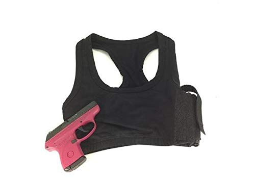 Daltech Force Women's Lace Sports Bra Holster - Fits Small Guns -...