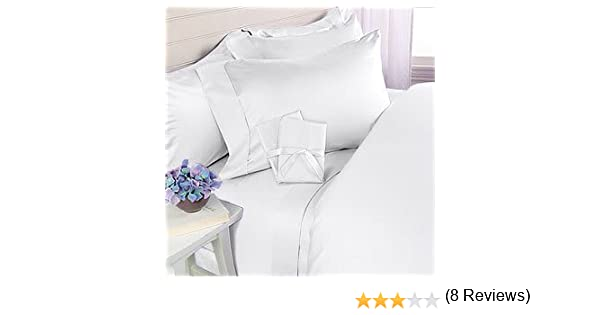 amazoncom 21 inches extra deep pocket thread count egyptian cotton sheet set 1000tc king solid white home u0026 kitchen