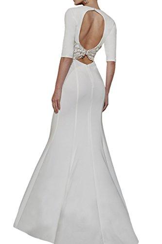 Missdressy -  Vestito  - Astuccio - Donna bianco 44