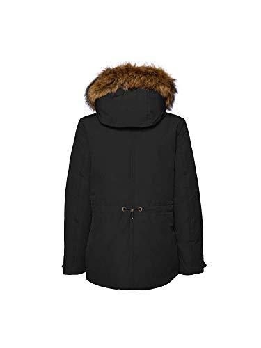 Night Negro Donna Geox W8428m Abbigliamento Blue F4386 Giubbetto 6zwnTqFB