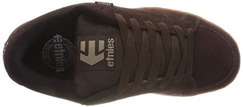 Black etnies 8 US Brown Kingpin M Gum D Shoes 4Bqx0wr4