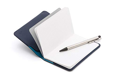 Bellroy Leather Notebook Cover Mini Blue Steel by Bellroy (Image #3)