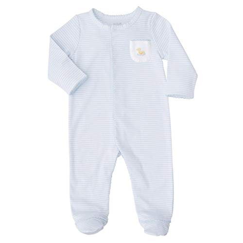 Mud Pie Baby Infant Duck Footed Long Sleeve Sleeper, Yellow 3-6 Months -