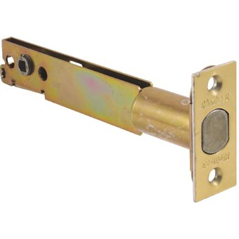 Kwikset 82730 Backset Polished Brass Deadbolt Latch - 5 Inch ...