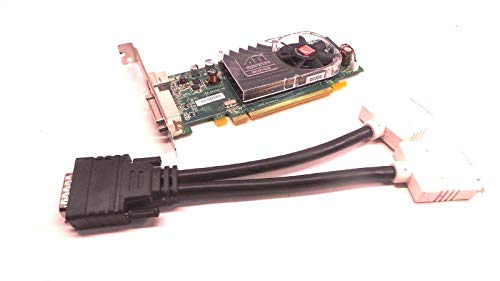 New ATI Radeon HD 3450 256MB PCI-e x16 DMS-59 Full Height Video Card X399D 0X399D W/DVI ()