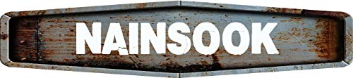 Any and All Graphics Nainsook Rustic Weathered Metal for sale  Delivered anywhere in USA