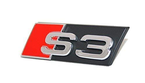 inscription S3 ORIGINAL AUDI A3 8P 8V CALANDRE EMBL/ÈME Mise au point SIGNE chrome