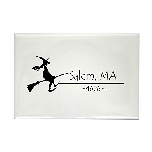 CafePress Salem, MA 1626 Rectangle Magnet, 2