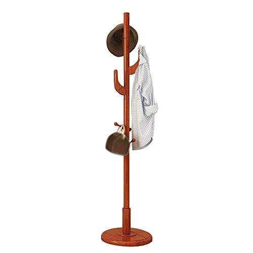 LQQGXLModern minimalist coat rack, Coat rack Hanger Solid wood bedroom Hanger Simple Creative clothes rack (Color : 1#) by LQQGXL