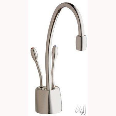Cool Water Dispenser Faucet (Indulge Contemporary Polished Nickel Instant Hot/Cool Water Dispenser-Faucet Only)