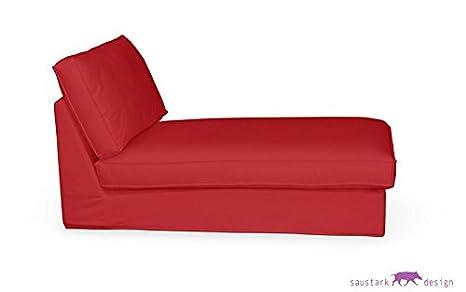 Amsterdam rojo funda protectora para IKEA KIVIK Chaise ...