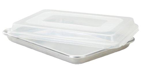 Lid Baking Sheets Kitchen Dining Com Nordic Ware Natural Aluminum Commercial Baker S Quarter