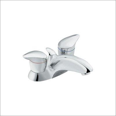 2h Chrome Faucet Lavatory (MOEN Villeta 2H Bath Faucet PLATINUM/CHROME L4720PM)