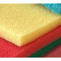 Espuma poliuretano amarilla en plancha