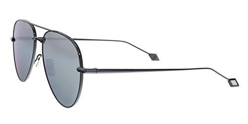 Sunglasses Brioni BR 0025 S- 003 RUTHENIUM / - Sunglasses Brioni