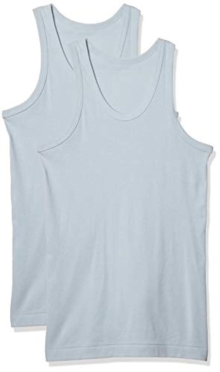[해외] Cecil 맨즈 내의 이너 셔츠 면100% 2매 세트 세트 런닝 소취 항균 KO-860