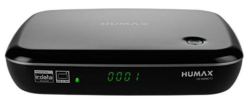 HUMAX Digital HD NANO DVB-T2 IR private und öffentlich Rechtliche Sender mit USB-PVR Funktion