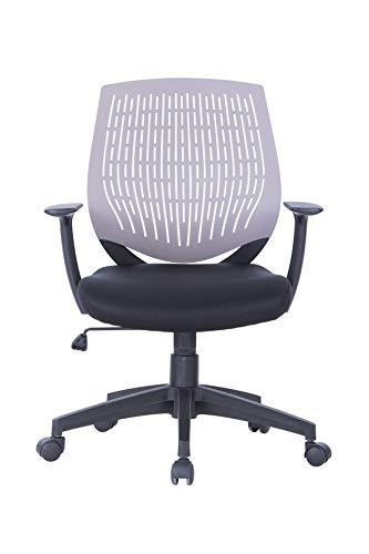 Alphason Malibu stol-grå, 100 x 64 x 51 cm