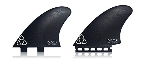 Naked Viking Surf ONO Twin Keel Surfboard Fins, Apex Series G10 Futures Compatible