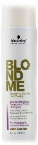 Schwarzkopf Professional BlondMe Brilliance Color Shampoo -