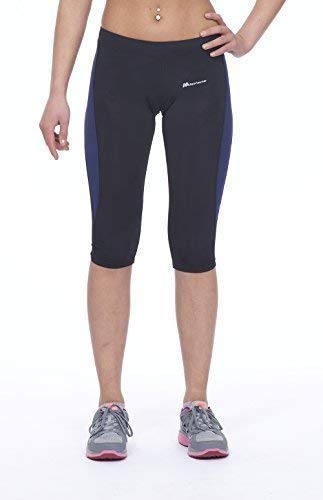 Azul camiseta Negro Gimnasio corriendo Fitness Uk12 Actividades Mujeres Deportes Corsair Ejercicio Medio Leggings marino Yoga UqwxRpzf