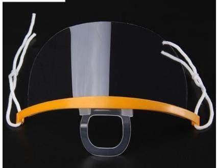 Transparent Masks Catering Special Food Hygiene Plastic Kitchen Smile Restaurant Anti-fog Spray Saliva Chef,10 pieces