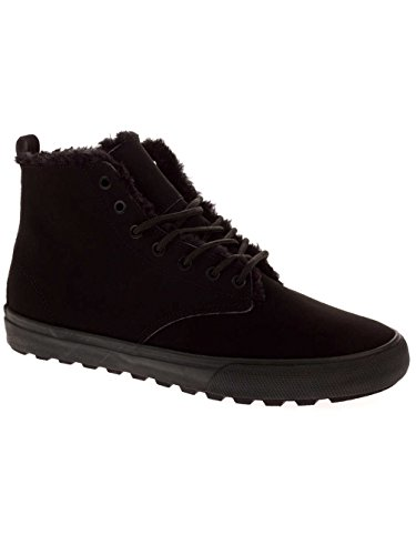 Black pour Croisade Bottes Fur Chaussures D'hiver Globe Homme IfYwPv