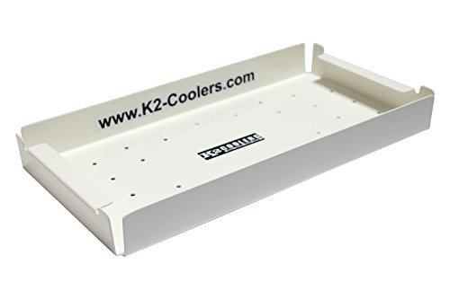 K2 Coolers Shallow Tray for the Summit 50, Aluminum by K2 Coolers