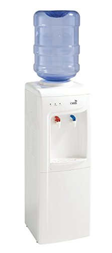 OASIS White Floor Standing Water Cooler, 504818C - BY90