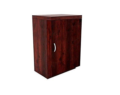 Jangir JDBF217 Bar Cabinet (Medium Glossy Finish, Walnut)