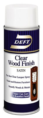 12.25 Oz Clear Wood Finish Satin [Set of 6] (The Best Lacquer For Wood)