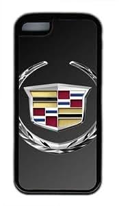 Customizablestyle Cadillac Logo iPhone 5C Case Rubber Shell(Black)