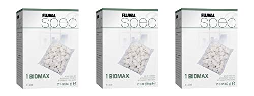 Fluval SPEC Biomax - 2.1 ounces (3 Pack)
