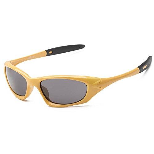 SACAS Active Sport Collection 100% UV Protection Sunglasses UNBREAKBLE TR90 Frame in Yellow - Rayban Google