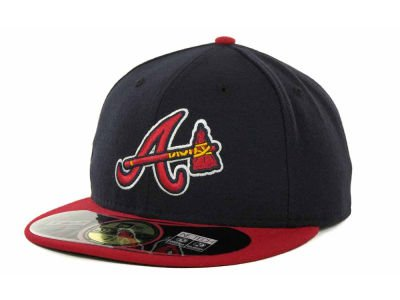 New Era MLB Atlanta Braves Alternate AC On Field 59Fifty Fitted Cap-718