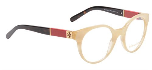 Tory Burch Eyeglasses TY2050Q 1366 Blonde Tortoise Red 49 20 - Tory Retailers Burch